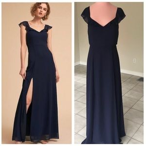 Anthropologie BHLDN Diana Dress - Navy Blue, NWOT